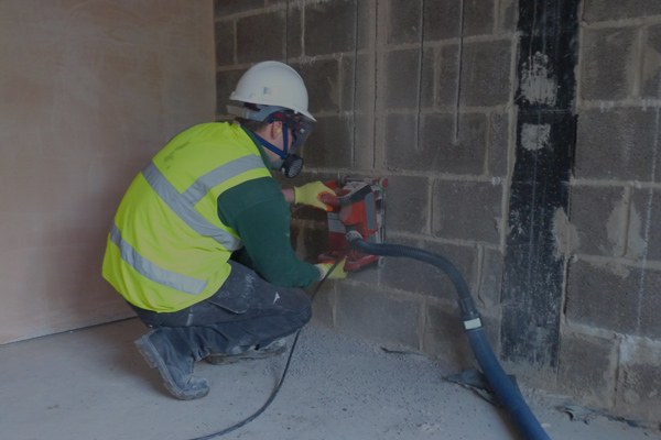 wall drilling services manchester