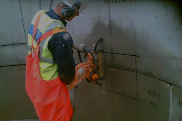 national drilling services wall sawing