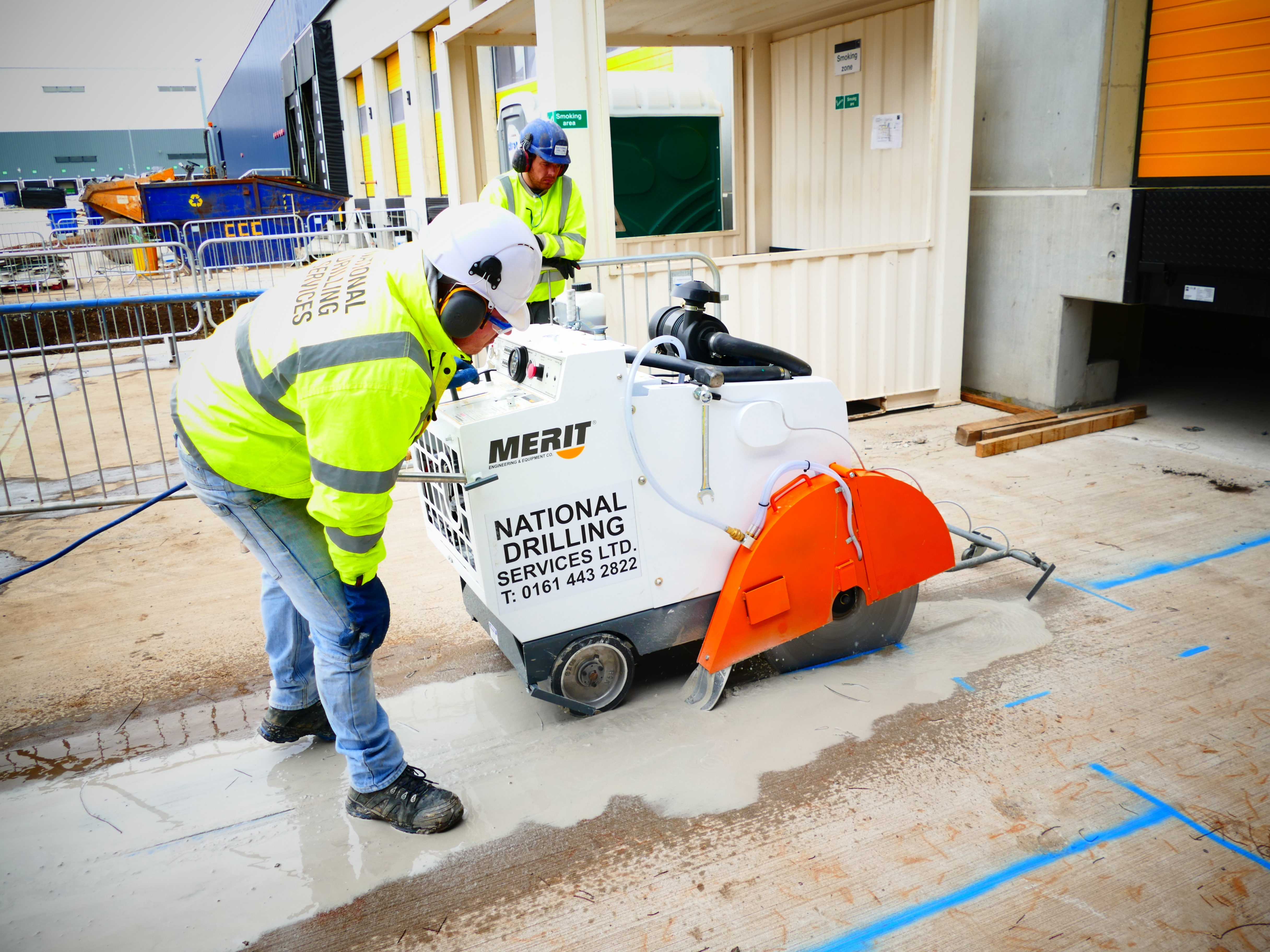 National Drilling Services Blackpool Concrete Drilling