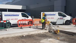 electric floor sawing manchester