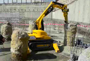 Robotic Demolition with the Brokk 100