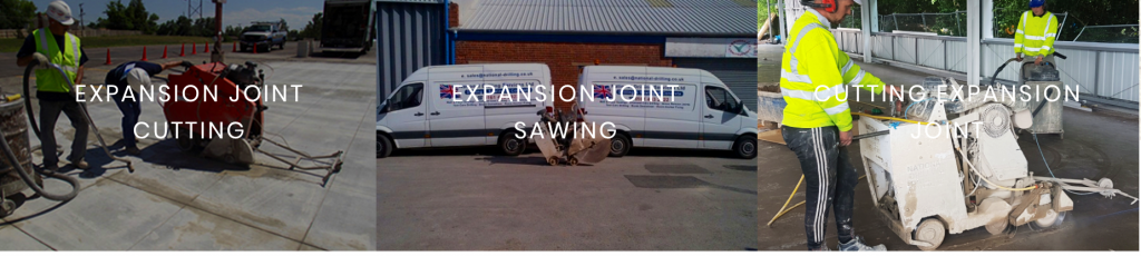 expansion joint cutting