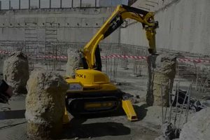 Robotic demolition encasement manchester