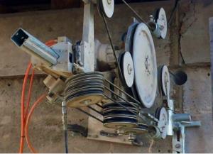 Diamond Wire Sawing Machine