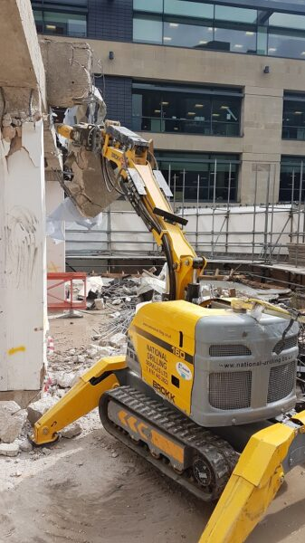 Robotic Demolition national drilling